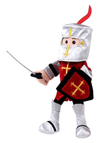 Fiesta Crafts Knight Hand Puppet - Red ()