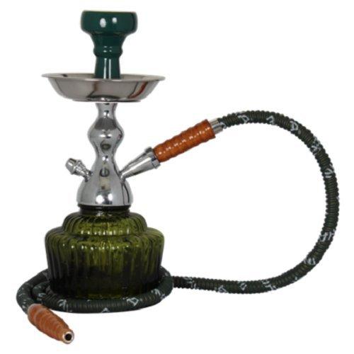 Mya Saray The Qt Mya 14  Single Hose Hookah  Green