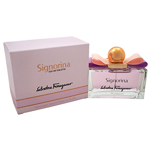 Salvatore Ferragamo Eau de Toilette Spray for Women, 3.4 Ounce