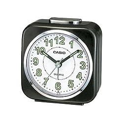 (CASIO) Beep Alarm Clock Snooze/Light Function (TQ143/1) (Black)