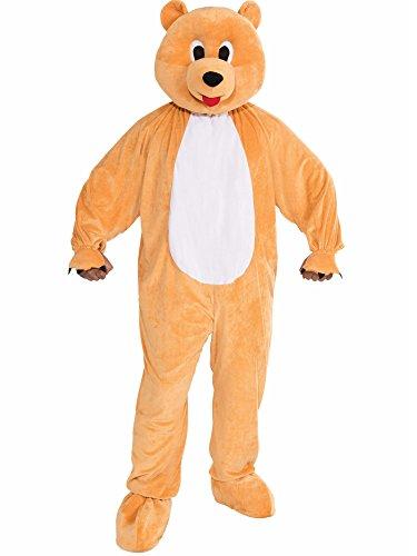 Forum Novelties Men's Honey Bear Plush Mascot Costume, Multi, Standard