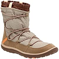 Clarks Women's Aria Frost Ankle Boots (Taupe Synthetic)