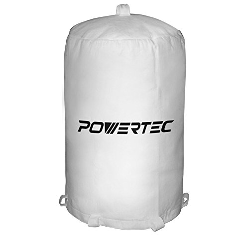 (POWERTEC 70001 Dust Collector Bag, 20-Inch x 31-Inch, 1 Micron)