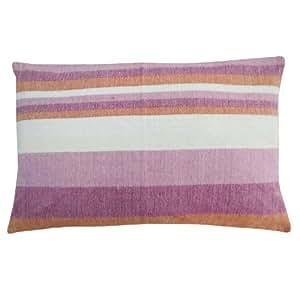 Pink Pillow Sham tapicería de cojín de algodón de la cubierta hecha a mano de la India Home Decor Indian Gift Art 27 x 17 pulgadas