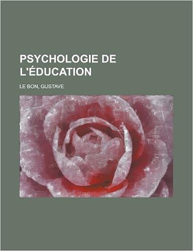 Psychologie de L'Education Lebon, Gustave Livres
