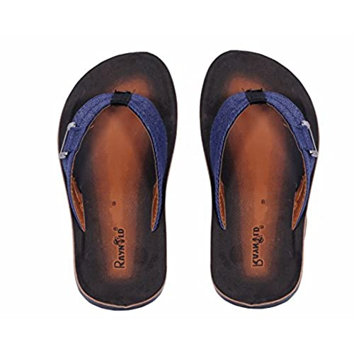 fd2e7a76b4ce1a cheap Indistar Men PU and Fabric Flip Flop   Sandal House Slipper And Thong  Sandals-