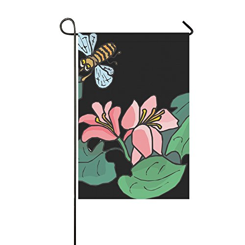 Home Decorative Outdoor Double Sided Bee Flying Insects Carr