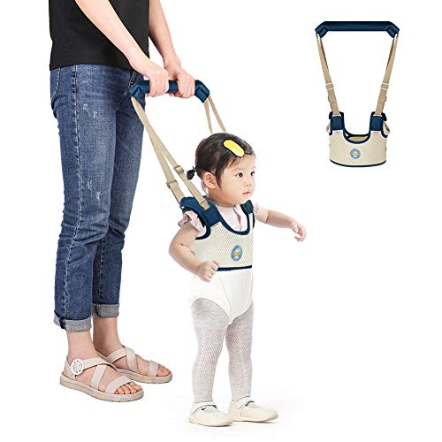Accmor Baby Walking Harness Handheld Baby Walker, Safe Stand Hand Held Baby Walking Assistant Walking Helper, Breathable Safety Walking Harness Walking Belt for Toddler Infant, Adjustable from Accmor