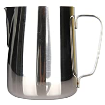 Moyishi 500ml Gauge Stainless Steel Steaming Frothing Pitcher for Espresso Machines, Milk Frothers & Latte Art by Moyishi
