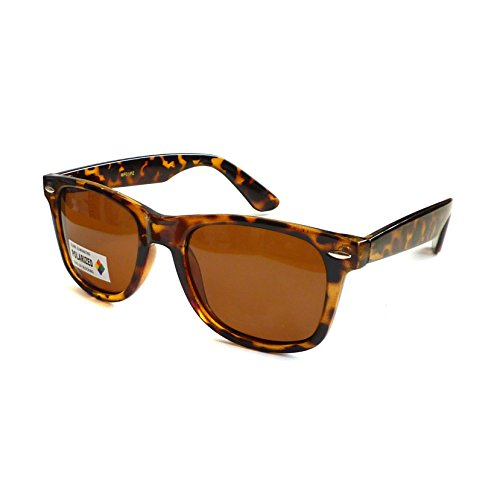 RETRO Polarized Anti-Glare Driving Fishing Sunglasses TORTOISE BROWN