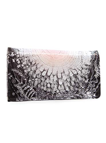 Papaya: Tri Fold Wallet, Clutch Checkbook Wallet for Women, Artistically Designed Ladies Wallet (From The Heart)