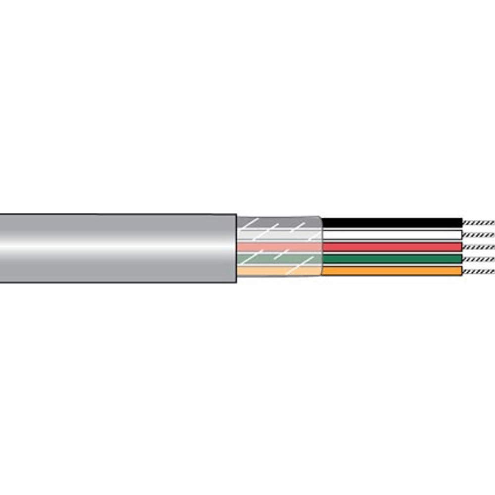 Cable; MultiConductor; 3C; 24AWG; Slate; 100'