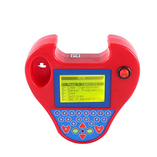 (JXHD Key Programmer - Transponder Clone Device - Find PIN,Multi-Languages Smart Zed-Bull Programmer with Mini Type No Tokens Needed)