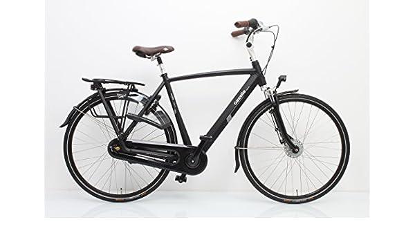 Gazelle bicicleta holandesa Arroyo C7 + Hombre Negro 2018, tamaño ...