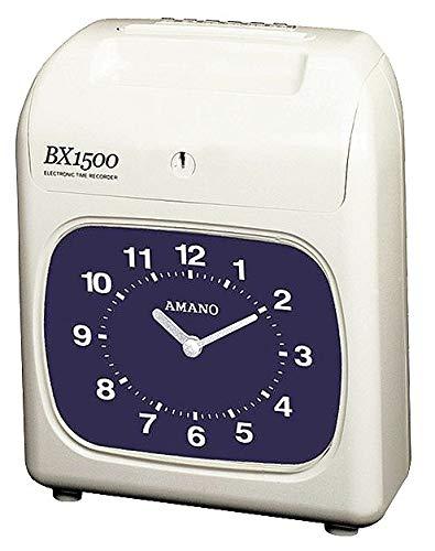 Electronic Dot Matrix Time Recorder - Amano Time Recorder, Electronic, Dot Matrix - BX-1500