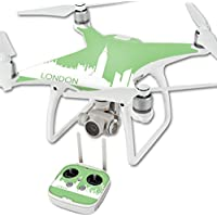 Skin For DJI Phantom 4 Quadcopter Drone – London | MightySkins Protective, Durable, and Unique Vinyl Decal wrap cover | Easy To Apply, Remove, and Change Styles | Made in the USA