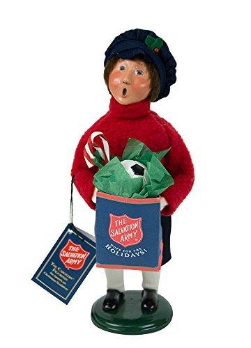 Byers' Choice Salvation Army Boy Shopper Caroler Figurine #4414E