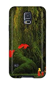 Slim Fit Tpu Protector Shock Absorbent Bumper Secret Of Mana Case For Galaxy S5