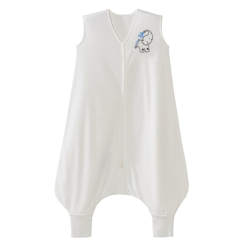 Halo Early Walker SleepSack Wearable Blanket, 100% Poly Knit, Elephant, Cream, Large