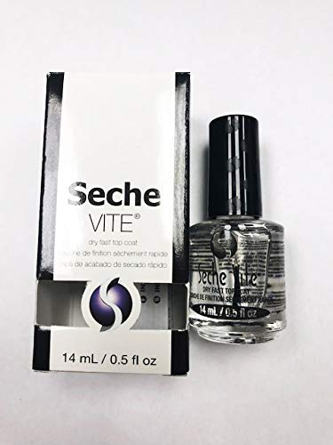 Seche Vite Dry Fast Top Nail Coat, Clear - .5 oz. oz available in ...