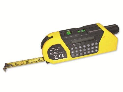Géndisc maßband mit laser pointer taschenrechner und libellen