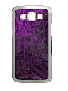 Samsung Galaxy Grand 2 7106 Case,Plum Geisha PC Hard Plastic Case for Samsung Galaxy Grand 2 7106 -Transparent