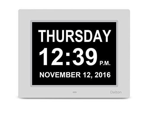 Dalton Memory Loss Digital Clock Large Digital Day Clock