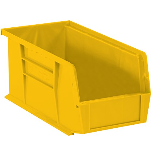 Boxes Fast BFBINP1487Y Plastic Stack & Hang Bin Boxes, 14 3/4