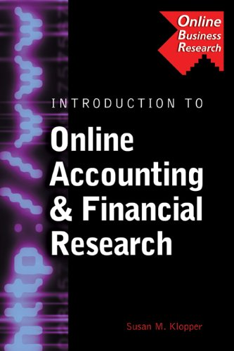 Introduction to Online Accounting & Financial Research