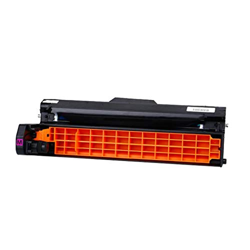 Compatible with OKI C5800 5900 Toner Cartridge for OKI C5600 5650 5700 5750 5800 5850 5900 5950 5500 Drum Assembly Printer Drum,Red