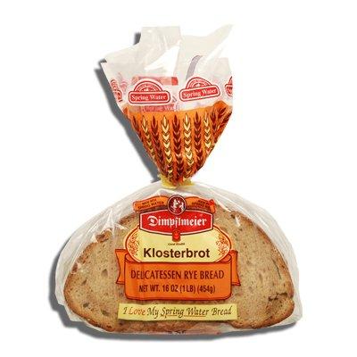 Dimpflmeier Klosterbrot Delicatessen Rye Bread 16 Oz