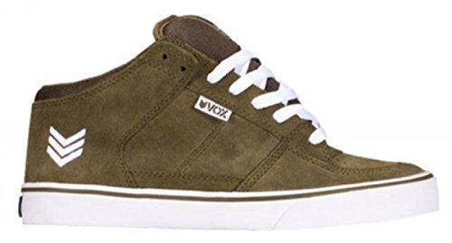Vox Skate Shoes Hewitt Olive/White