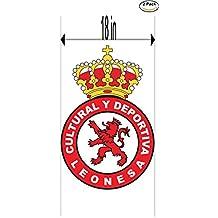 CanvasByLam Cultural y Deportiva Leonesa Spain Soccer Football Club FC 2 Stickers Car Bumper Window Sticker Decal Huge 18 inches