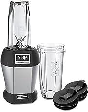 Ninja Nutri Pro Blender, 800-Watt Base for Juices, Shakes & Smoothies, Personal Blender, 18 and 24 Oz, Black/Silver (BL450C)