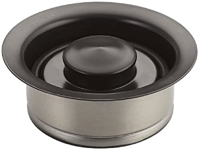 KOHLER K-11352-2BZ Disposal Flange with Stopper, Oil-Rubbed Bronze