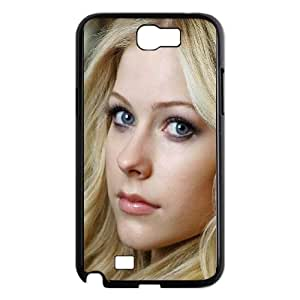 Samsung Galaxy N2 7100 Cell Phone Case Black hb46 avril lavigne music OJ683308