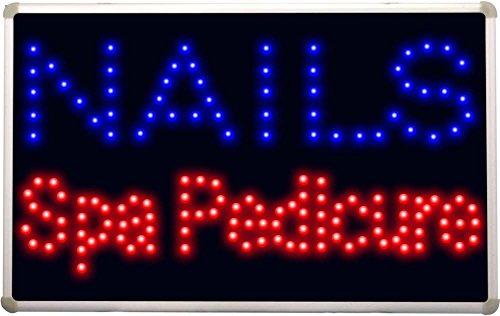 led097 Nails Spa Pedicure Led Neon Sign