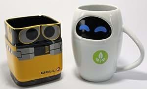 Disney Pixar WALL-E & EVE Mug Gift Set
