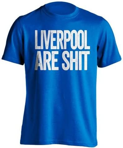 / State Property Gonna Odio Beef Shirts Liverpool Son Mierda/  / Everton FC Fan Camiseta/