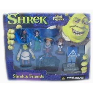 Shrek & Friends Mini Figure Playset (Toys Shrek)