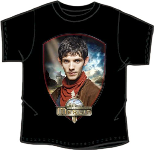 Merlin BBC Series Official 'Merlin' Exclusive Design Collectable T-shirt MEDIUM CHILD ()