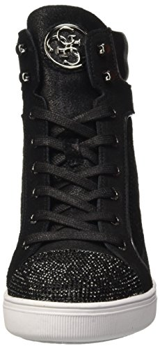 Nero para Negro Mujer Furr Guess Zapatillas Altas Wqzw0n6Y