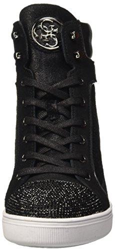 Furr Guess Mujer Altas Negro Nero para Zapatillas 8AAqdg