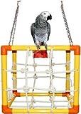 Zoo-Max Cube Medium Bird Toy Hanging Play Gym