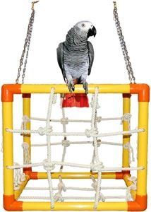 Zoo-Max Cube Medium Bird Toy Hanging Play Gym by Zoo-Max