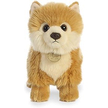 Amazon Com Aurora World Miyoni Pomeranian Plush Toys Games