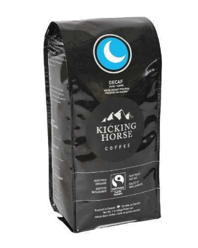 Kicking Horse Whole Bean Coffee, Decaf Roast, 1 Pound by Kicking Horse Coffee