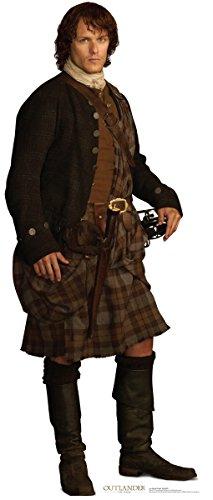Jamie Fraser - Scottish Version - Starz Outlander - Advanced Graphics Life Size Cardboard Standup