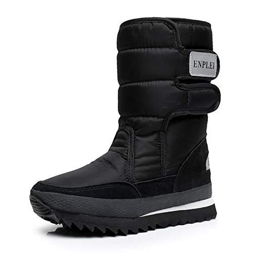 ZHRUI Stiefel (Farbe   Schwarz, Größe   EU 39)