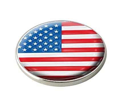 Amazon Com Usa National Flag Golf Ball Marker By Asbri Sports